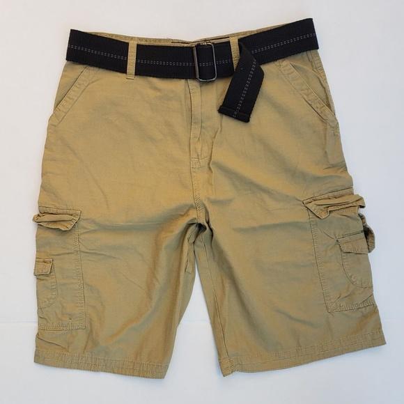 c75b49bee1 Liberated & Free Shorts | Liberated Free Mens Khaki Cargo Sz 34 ...